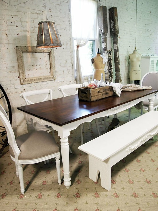 banco e mesa